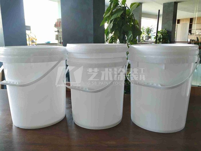paint-barrel-PP-material-20-liter-clear-white-customized-paint-bucket