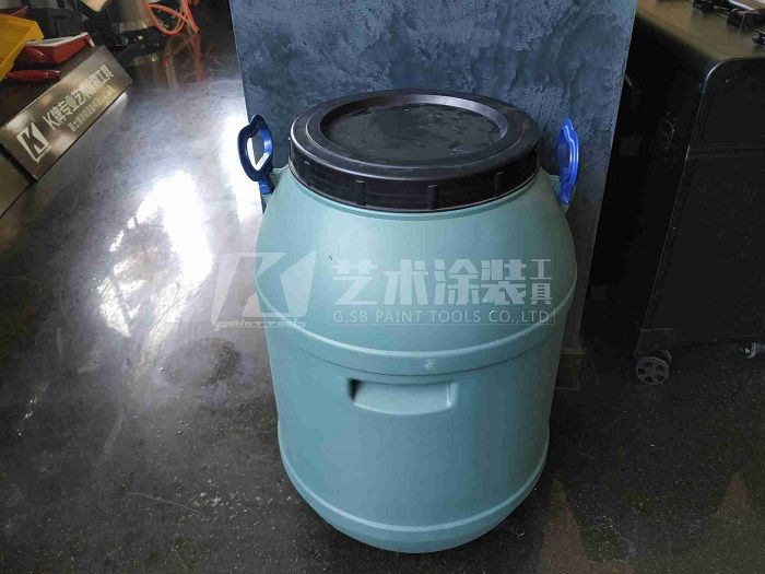 paint-barrel-PP-material-30-liter-clear-white-color-paint-bucket