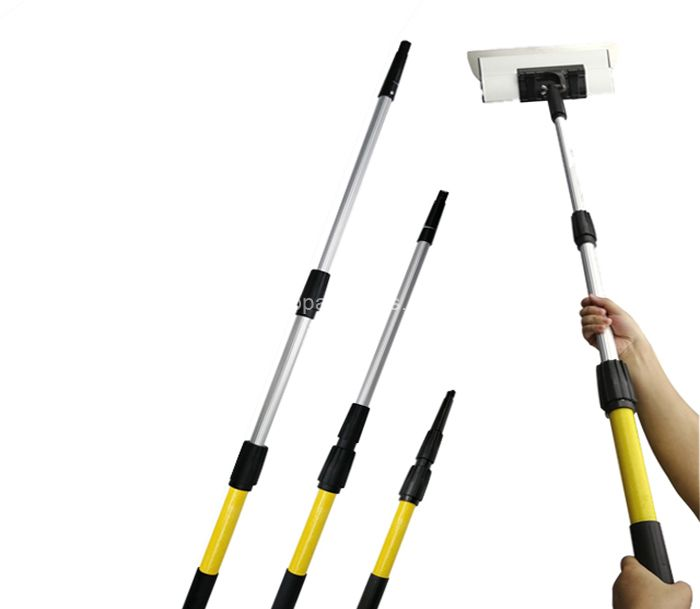 3 Section High Quality Aluminum extension pole telescopic pole handle for painting